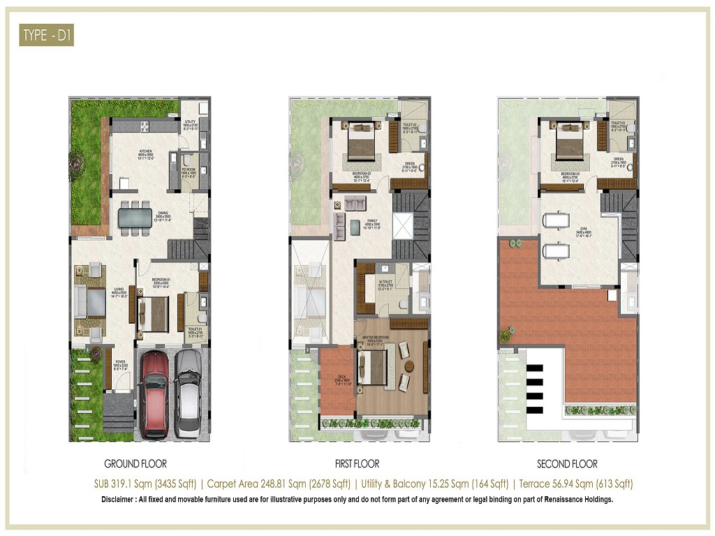 Renaissance Nature Walk Floor Plan4